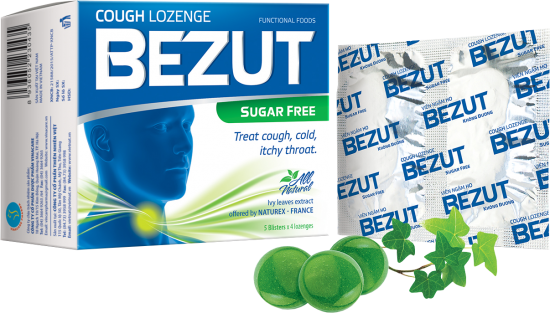 BEZUT COUGH LOZENGE - SUGAR FREE