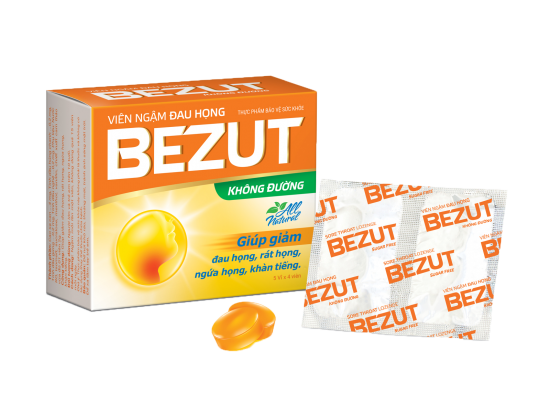BEZUT THROAT LOZENGE - SUGAR FREE